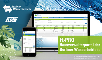 Frischekur für Hausverwalterportal der Berliner Wasserbetriebe